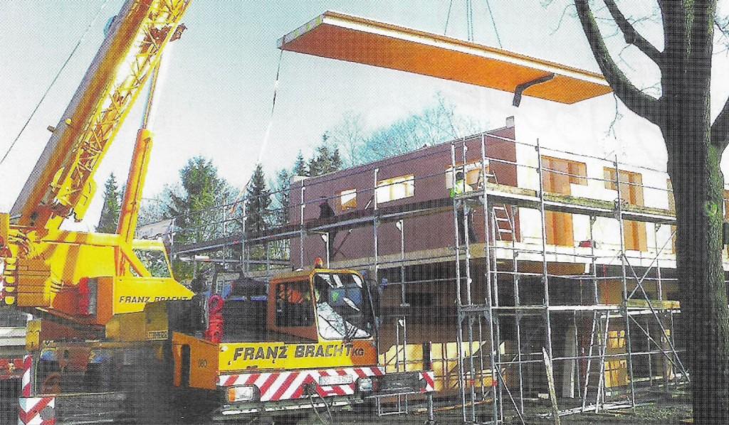 Bau Vereinsheim Sportverein und Tennisverein Sünninghausen