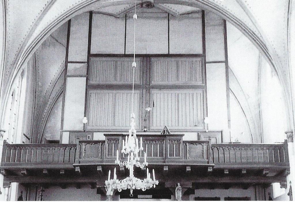 Kirche Sünninghausen - Orgel von 1924