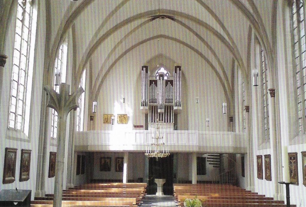 Kirche Sünninghausen - Orgel von 1988