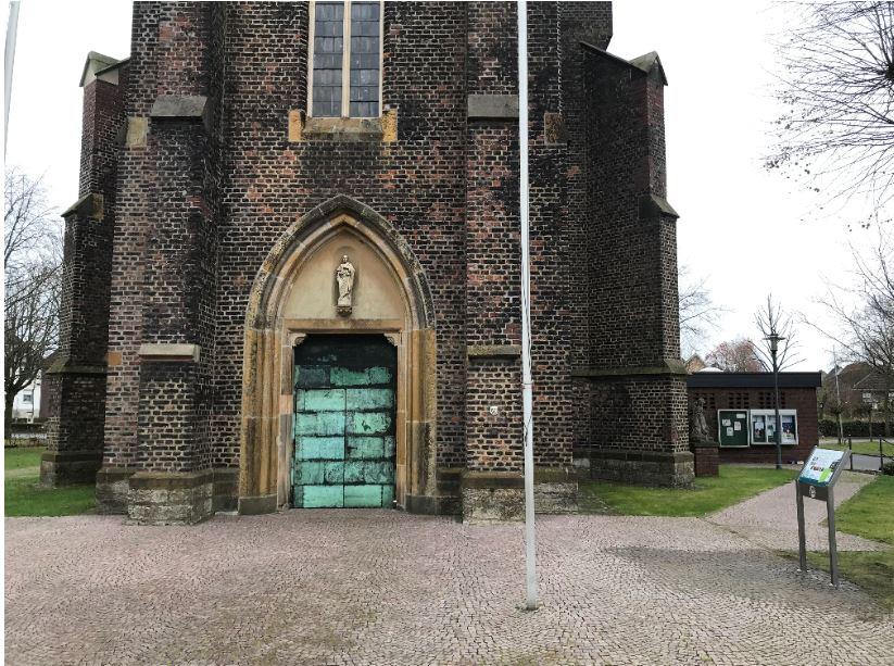 Infostele Vituskirche Sünninghausen