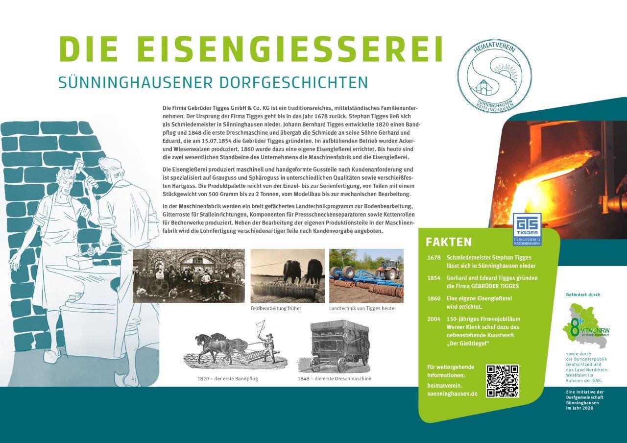 Infotafel Eisengießerei Sünninghausen